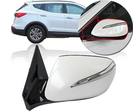آینه بغل دو موتوره تاشو برقی هیوندا اصل کره