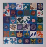 تابلو نقاشی نقطه کوبی