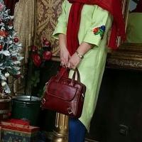 کیف تمام چرم گاوی و دست دوز مدل کولاک