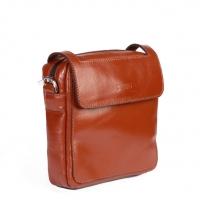 کیف دوشی کوچک چرم طبیعی