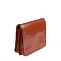 کیف دوشی بزرگ چرم طبیعی