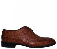 کفش رسمی مردانه ام پی اصل ترکیه مدل کروکدیل هشتک
