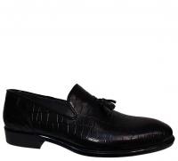 کفش مجلسی چرمی مردانه گالا مدل کالج ساده