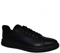 کفش چرم اسپرت مردانه شمس